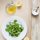Fresh Watercress Salad with Lemon Vinagrette