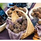 Truffles in a Basket