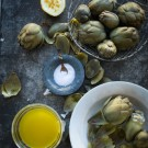 Artichoke with Dipping Sauce Recipe
