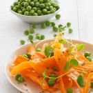 Carrots, Peas and Mint Salad Recipe