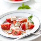 Fresh Tomato, Basil and Mozzarella Salad Recipe