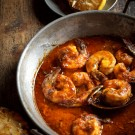 Savory, spicy  New Orleans style barbecue shrimp you can&#039;t quit eating!