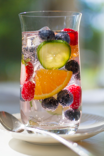 Summer Blueberry Cocktail Recipe