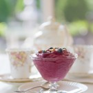Old Fashioned Blueberry Fool Dessert Postcards from Maine
