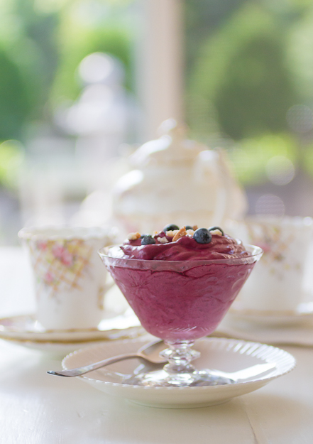 Old Fashioned Blueberry Fool Dessert Recipe - Postcards from