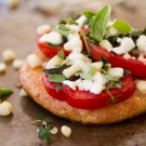 Fresh Herb Mini Pizza Recipe