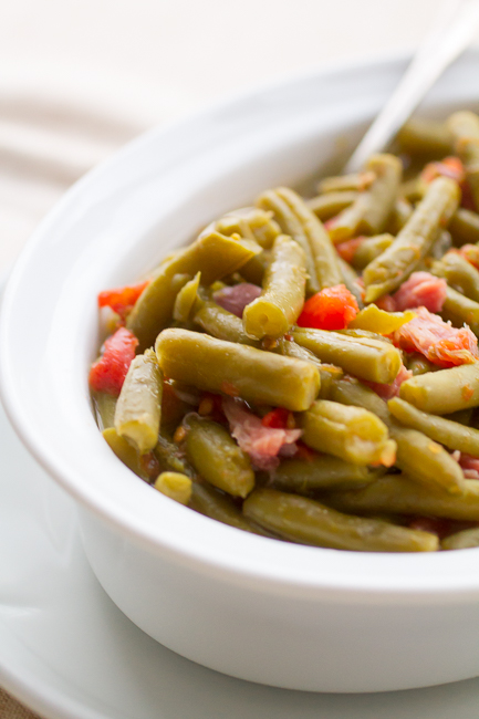 Aunt Mary's Country Green Beans